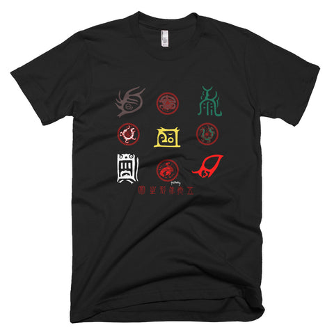 5 mountain symbols Tee - SOUL BROS by telberry