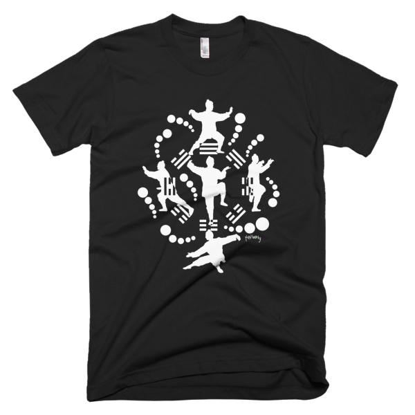 Tai Chi Bagua Tee - SOUL BROS by telberry