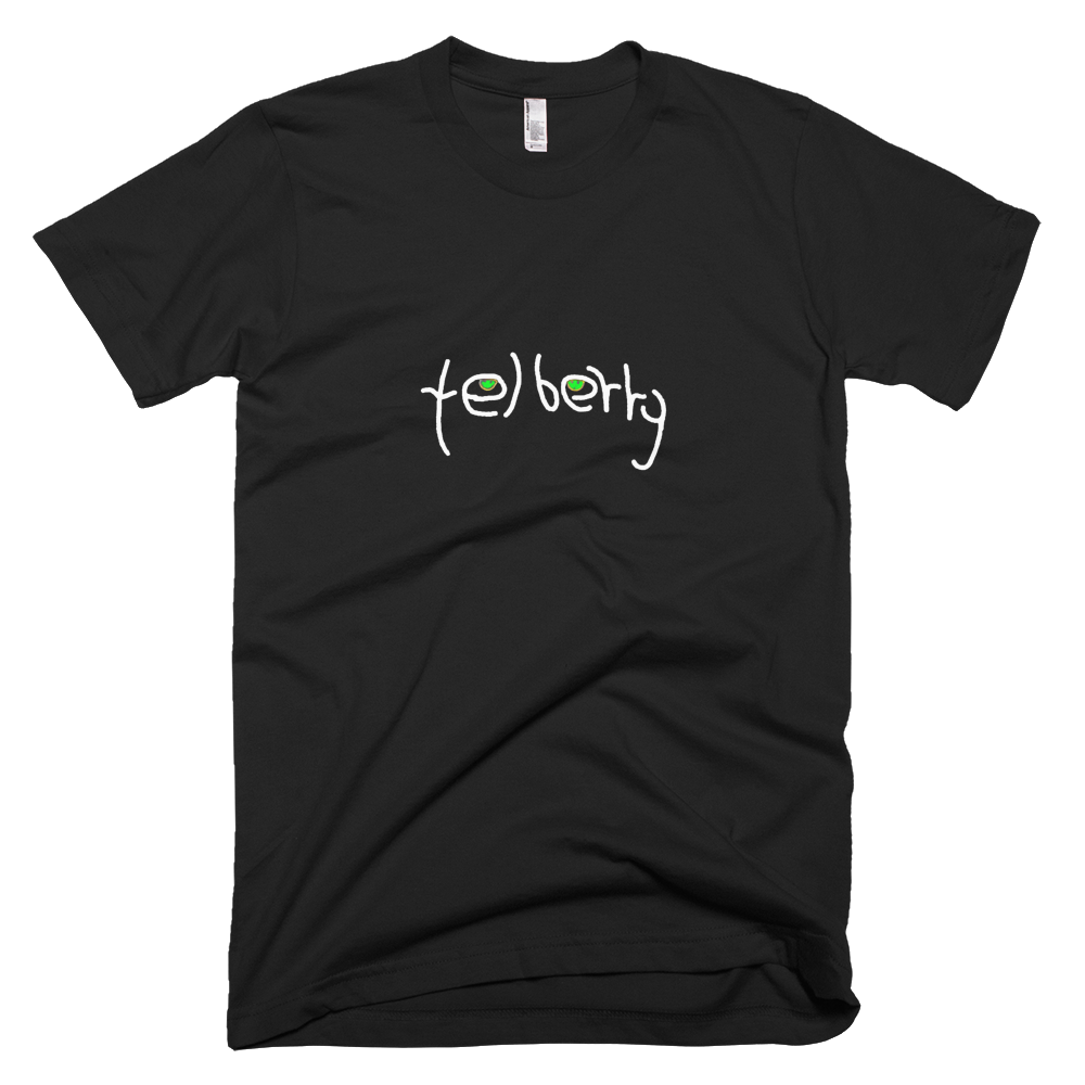 telberry Signature Logo White Tee - SOUL BROS by telberry