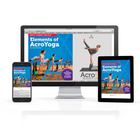 Elements of AcroYoga 2.0 Refreshed Edition | Digital Download