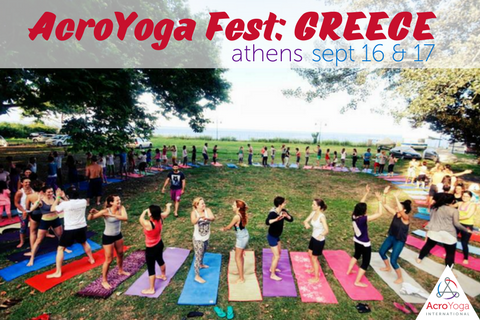 AcroYoga Fest: Greece