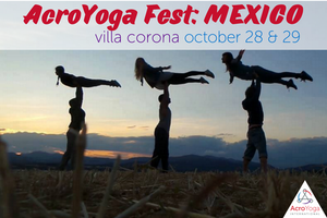 AcroYoga Fest: Mexico | October 28 & 29 2017
