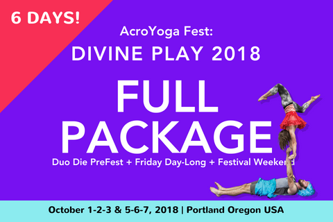 AcroYoga Fest: Divine Play 2018 | Full Package | October 1-7