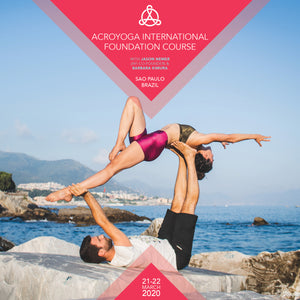 AcroYoga International Foundation Course in Sao Paulo