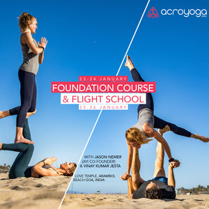 Goa Foundation Course & Flight Scool with Jason & Vinay