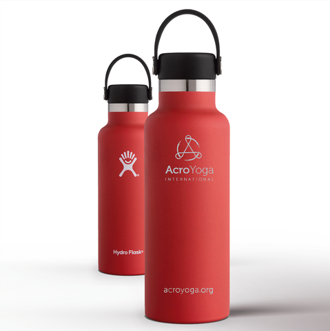 AcroYoga x Hydroflask Waterbottle | Lava Red