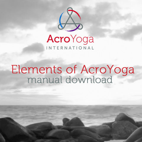Elements of AcroYoga Manual Digital Download