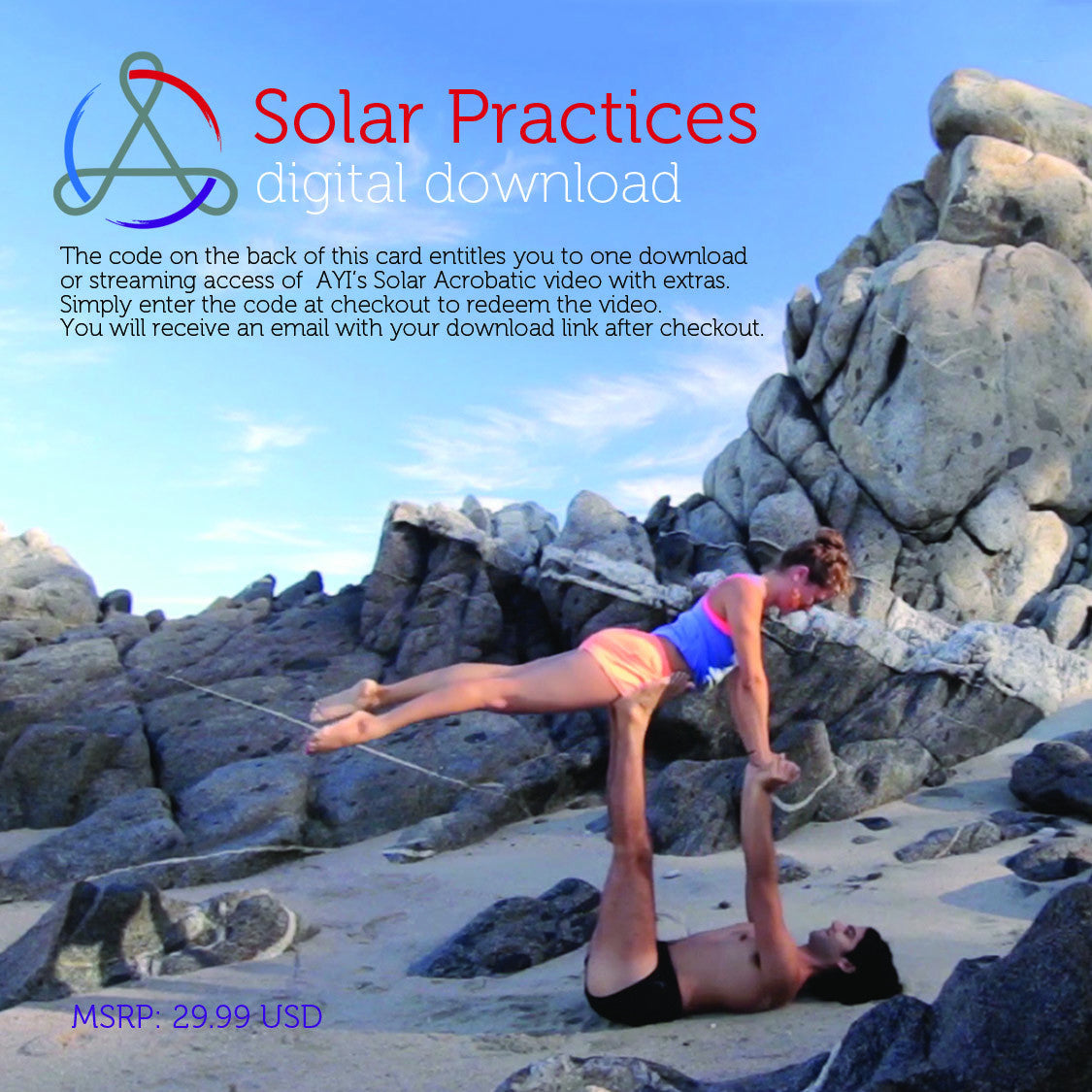 Solar Practices Digital Download Card for JAMbassadors