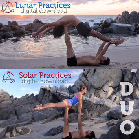 Digital Download: Solar Acrobatic and Lunar Therapeutic Practices Duo