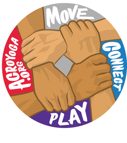 Move - Connect - Play | Sticker
