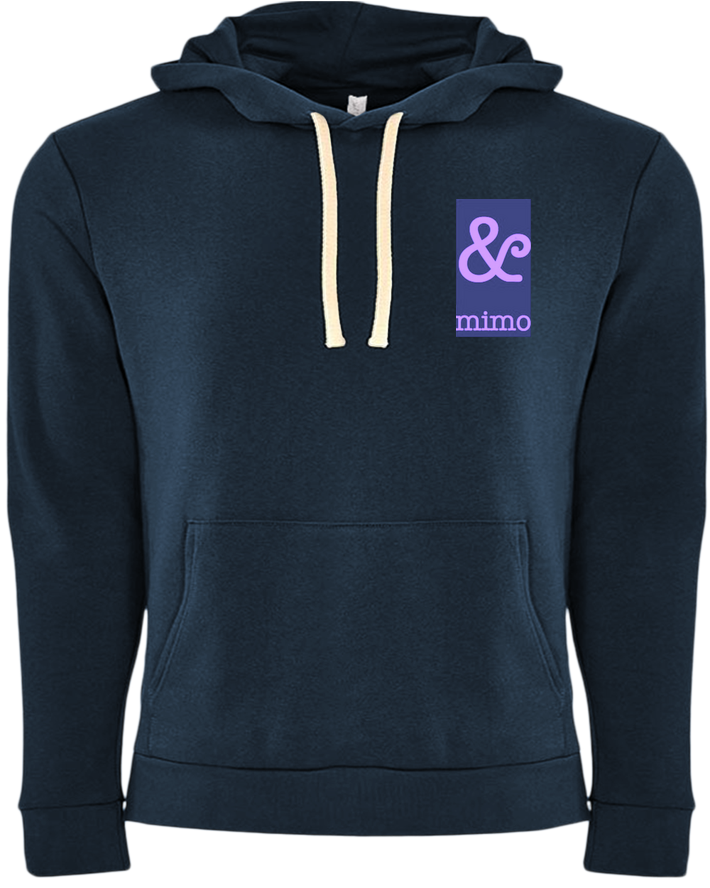 &Mimo Logo in Lavender Hoodie