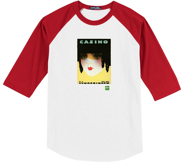 A Red Lips Raglan