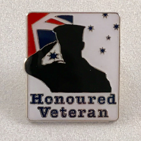 "Honoured Veteran ""Navy"" Badge."
