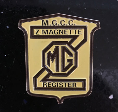 MG, Z Magnette Badge