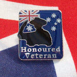 Honoured Veteran Badge