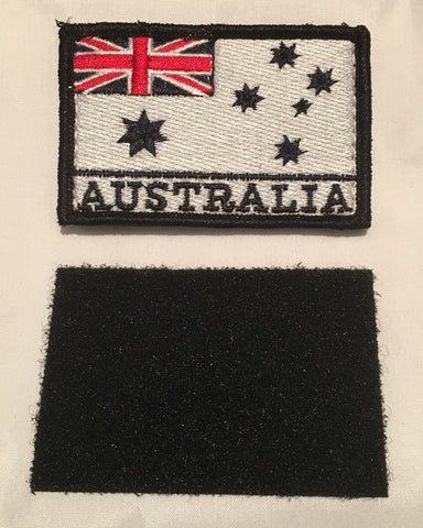 Velcro Sew on Patch NAVY Flag 50 mm H x 75 mm W.