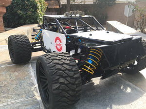 Terrain & Road Crusher on DJ Serafin's Losi LST XXL Build