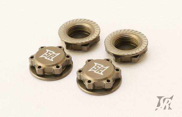 SR 17mm Light Weight Wheel Nuts (4pcs)