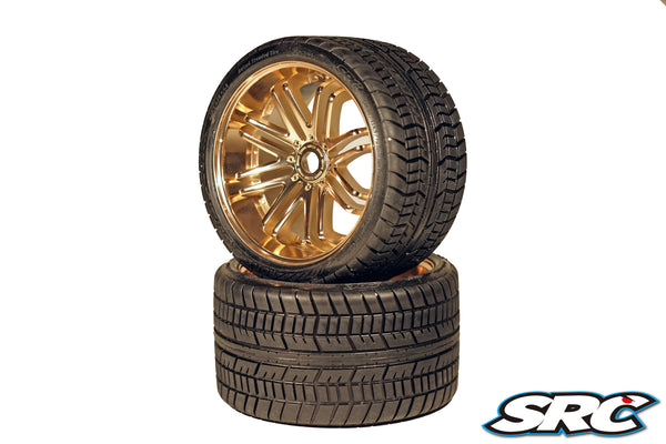SRC Road Crusher (Belted) for 17mm HEX (Pair) *Bronze*