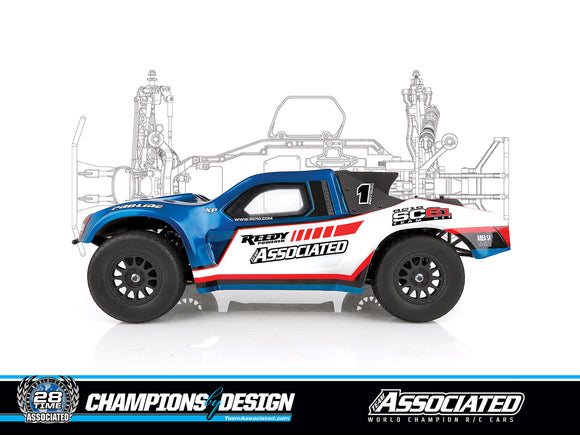 RC10SC6.1 TEAM EDITION OFF ROAD 1/10 SHORT COURSE TRUCK
