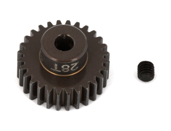 FT Aluminum Pinion Gear, 28T 48P, 1/8
