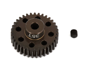 "FT Aluminum Pinion Gear, 32T 48P, 1/8"" shaft"