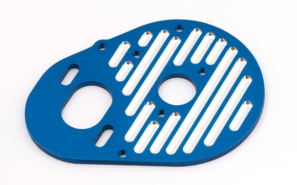 B4/T4 Milled Blue Motor Plate
