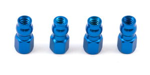 F/T Aluminum Shock Bushings Blue