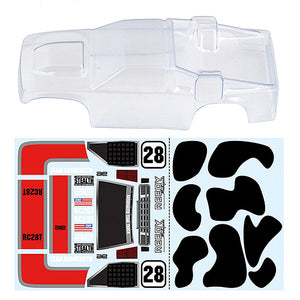RC28T Body, Clear