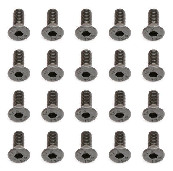 M3X8mm Flat Head Hex Screw (20)