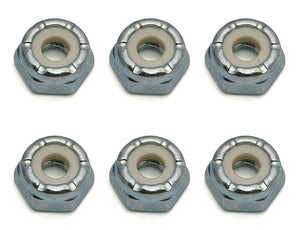 8-32 Low Profile Locknut, Steel