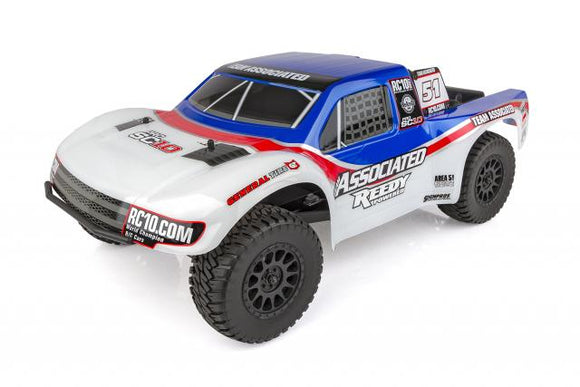 ProSC10 AETeam RTR Battery Combo, Brushless 2WD Short