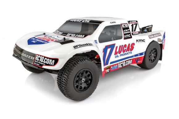 SC10.3 Lucas Oil Brushless RTR 1/10 Short Course Truck, Lipo