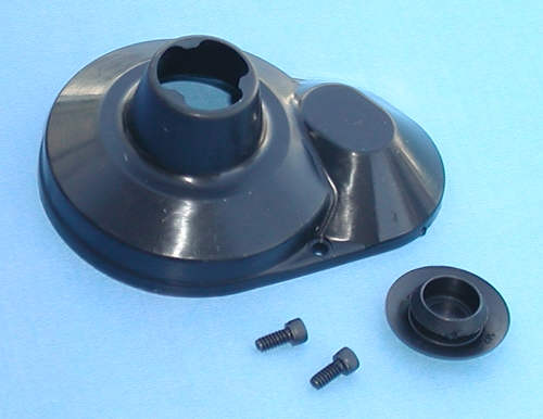Molded Gear Cover, Black B4/T4