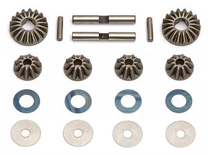 RC8 Diff Gears, Washers, Pins
