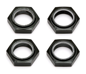 SC8 Nyloc Wheel Nuts, Black