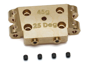 B5/B5M Factory Team Brass Bulkhead, 25 Degree