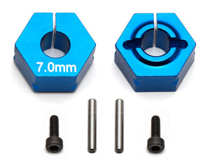 Clamping Wheel Hexes, 7.0mm