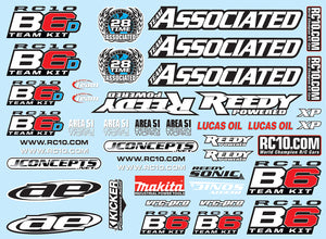 B6 Decal Sheet