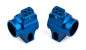 B6 Factory Team Blue Aluminum Rear Hubs