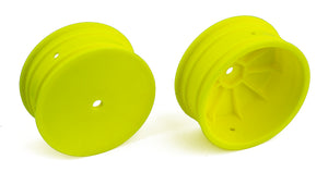 Front Wheels, 12mm Hex 4WD Front 2.2in Wheels, Yellow