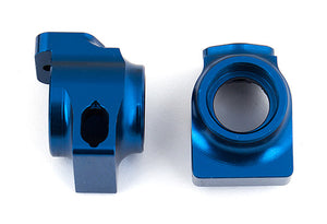 B64 Factory Team Blue Aluminum Rear Hubs