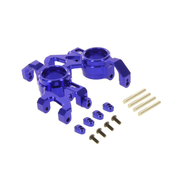 X-Maxx Alloy Steering Block Blue