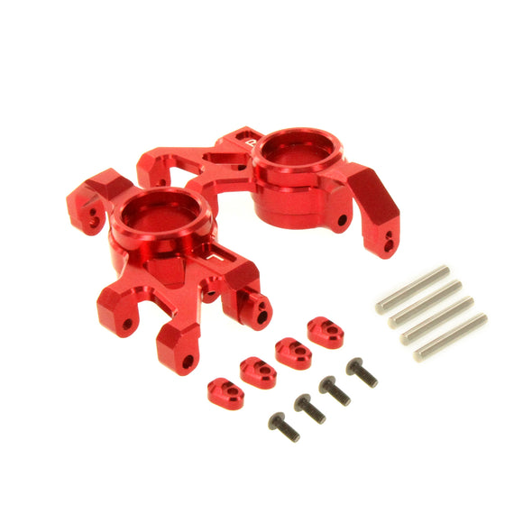 X-Maxx Alloy Steering Block Red