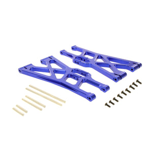 X-Maxx Alloy Front/Rear Lower Blue