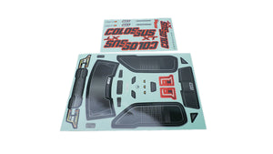 Colossus XT Decal/Sticker Sheet Colossus XT