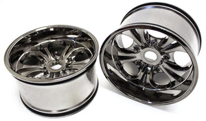 7.5 Wheels 23mm Hex (Gunmetal Chrome) Colossus XT