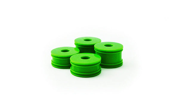 GT24B Wheel Set (4): Green