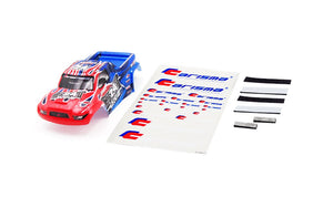 GT24MT Truck Body Painted and Decorated ( Red / Blue)