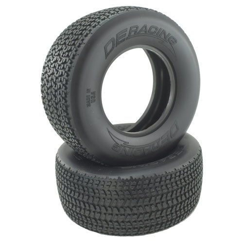 Grooved G6T D40 Compound SC Oval Tire (2), No Foams
